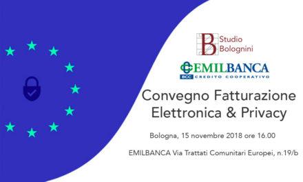 Convegno fatturazione elettronica con Emil Banca